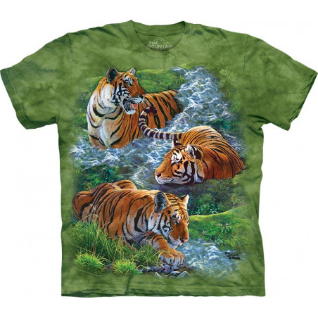 Water Tiger Collage T-Shirt The Mountain