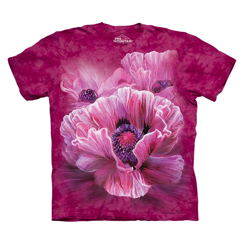 Poppies T-Shirt The Mountain