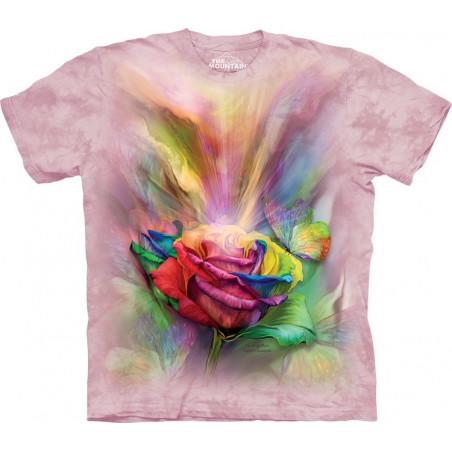 Healing Rose T-Shirt The Mountain