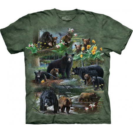 Bear Collage T-Shirt The Mountain