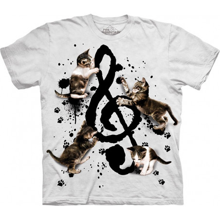 Cool Music Kittens T-Shirt