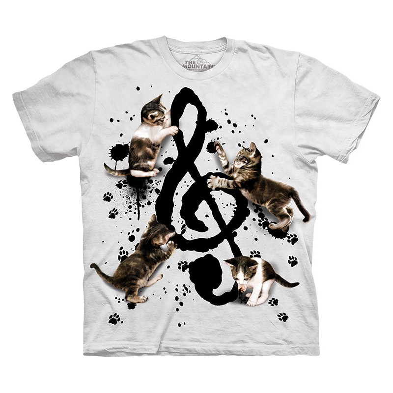 Music Kittens T-Shirt The Mountain