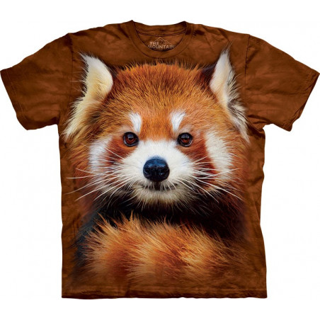 Red Panda Portrait T-Shirt The Mountain