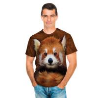 Red Panda Portrait T-Shirt The Mountain