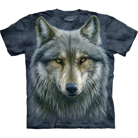 Warrior Wolf T-Shirt The Mountain