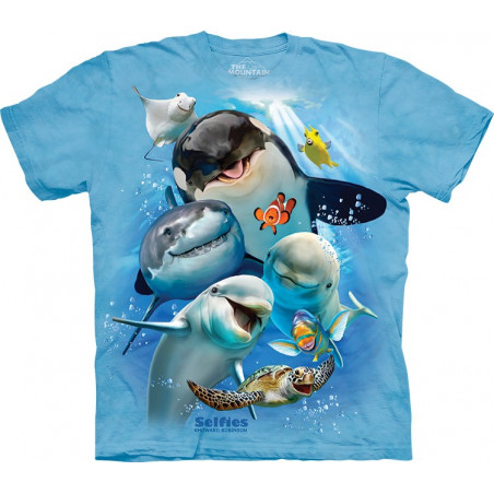 Novelty Ocean Selfie T-Shirt
