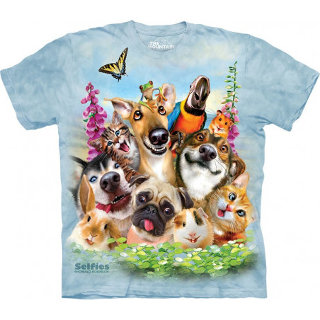 Pet Selfie T-Shirt The Mountain