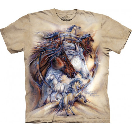 Horses The Journey is The Reward T-Shirt The Mountain