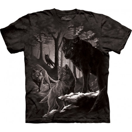 Wolves Dire Winter T-Shirt The Mountain