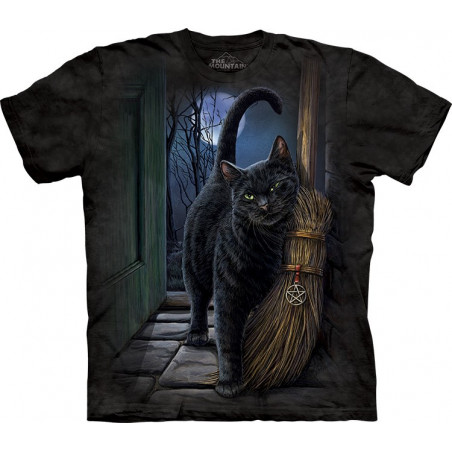 Cat A Brush With Magic T-Shirt The Mountain