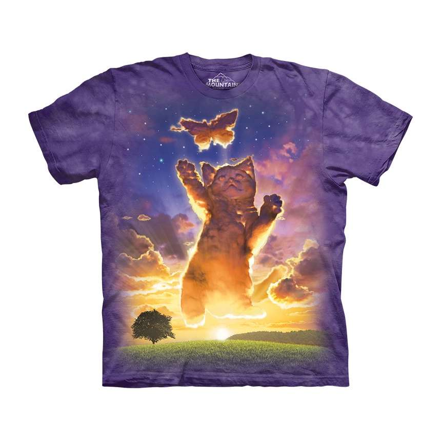 Kitten Cloud T Shirt