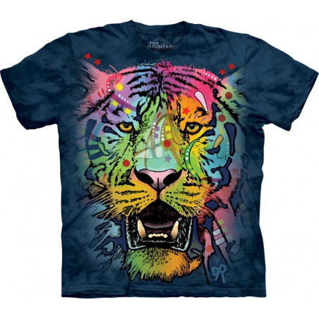 Russo Tiger Face T-Shirt The Mountain