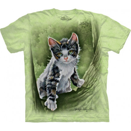 Tree Kitten T-Shirt The Mountain