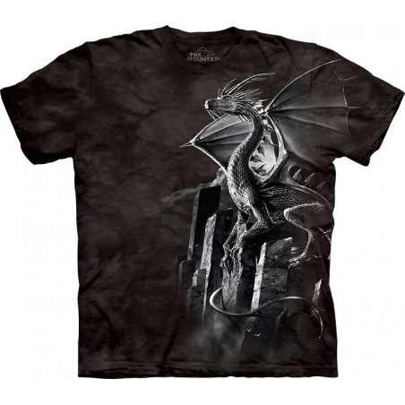 Silver Dragon T-Shirt The Mountain