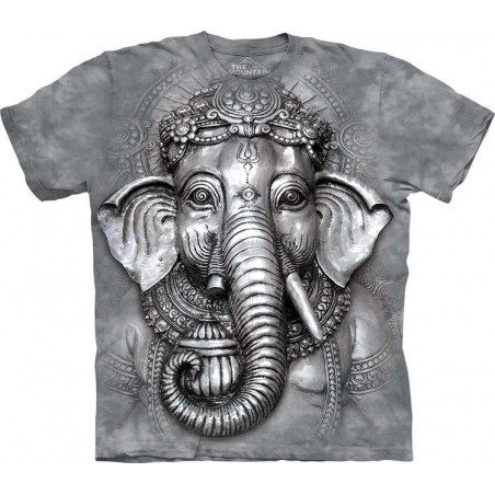 Graphic Big Face Ganesh T-Shirt