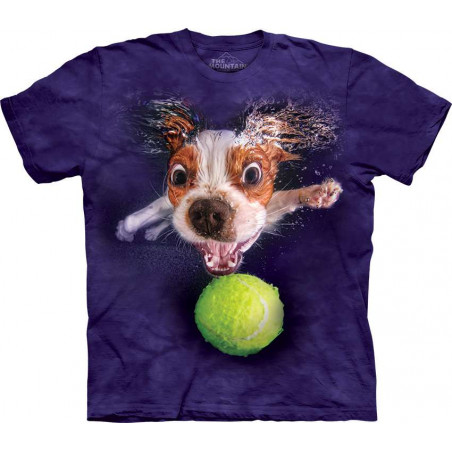Dog Underwater Monty T-Shirt