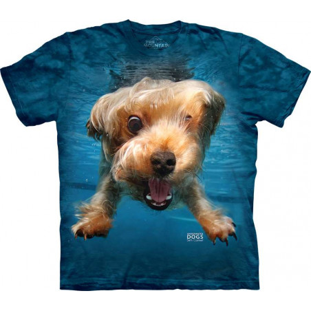 Dog Underwater Brady T-Shirt The Mountain