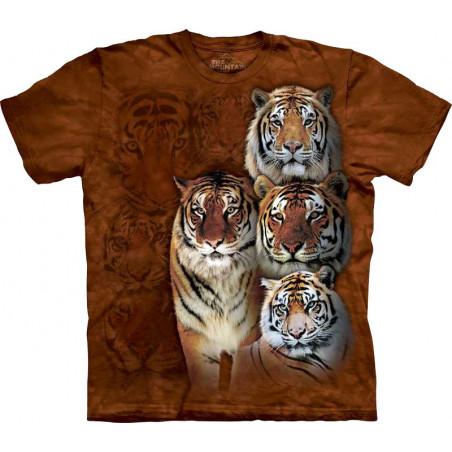 Siberian & Bengal Cute Siberian Tiger Shirt