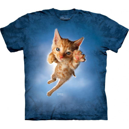 Cat Pounce Peeps T-Shirt The Mountain