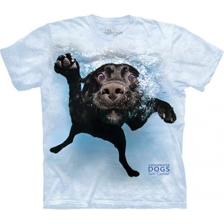 Dog Underwater Duchess T-Shirt The Mountain
