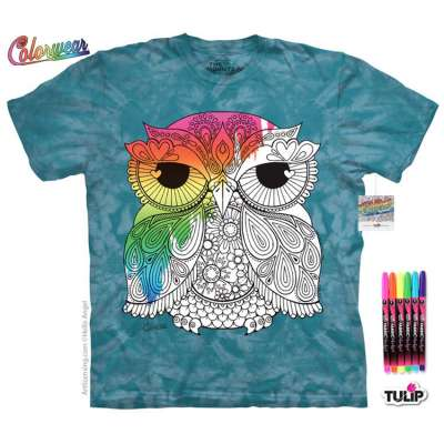 Owl 1 T-Shirt The Mountain
