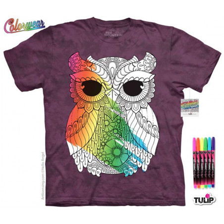 Owl 3 T-Shirt The Mountain