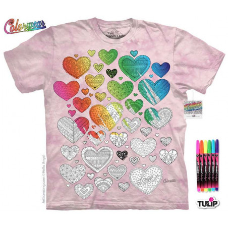 Hearts on Hearts T-Shirt The Mountain