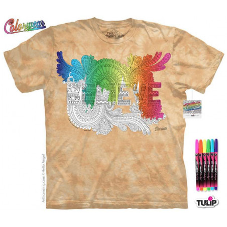 Letters Words 8 T-Shirt The Mountain