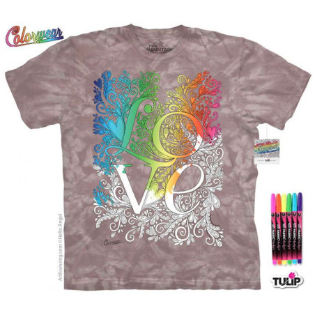 Letters Words 10 T-Shirt The Mountain