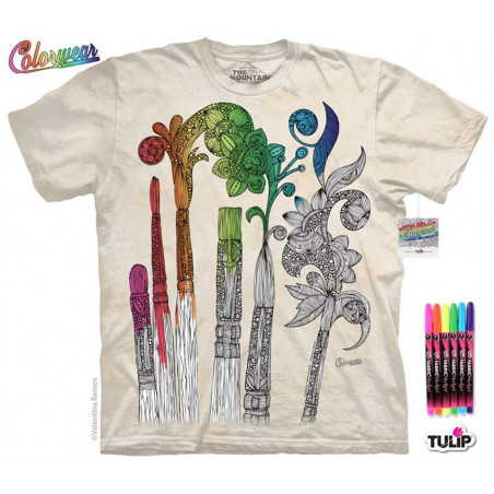 Paintbrushes T-Shirt The Mountain