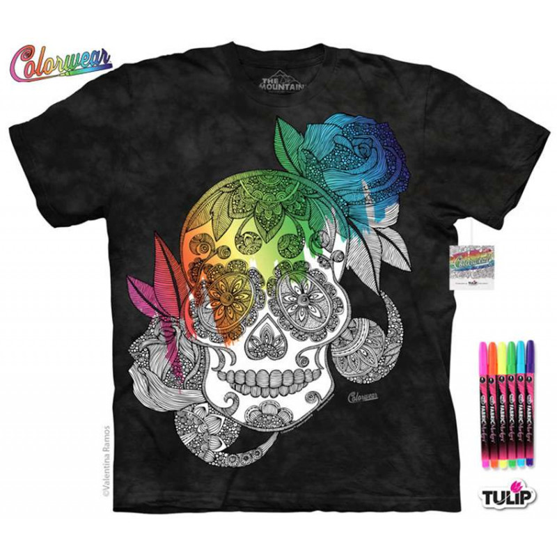 Sugar Skull T-Shirt The Mountain