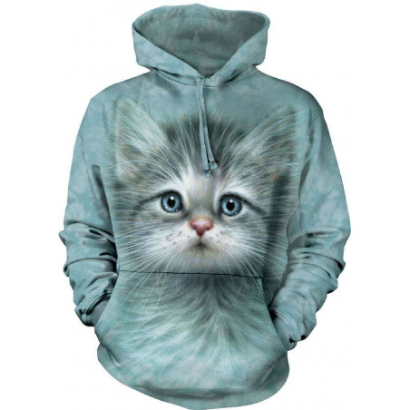 Blue Eyed Kitten Hoodie The Mountain