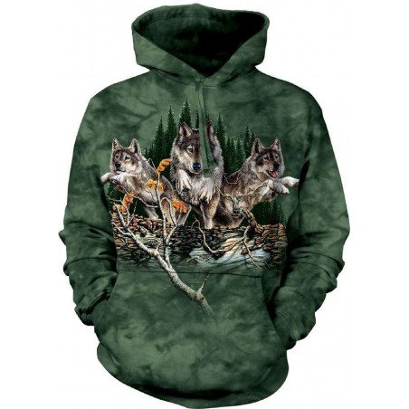 Find 12 Wolves Hoodie The Mountain