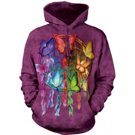 Rainbow Butterfly Dreamcatcher Hoodie The Mountain
