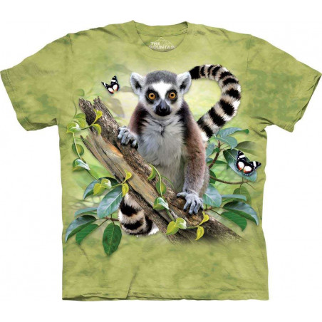 Lemur & Butterflies T-Shirt The Mountain