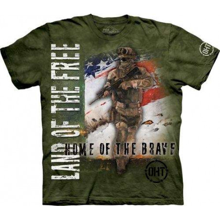Home of the Brave T-Shirt The Mountain