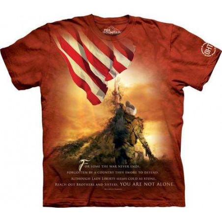Not Alone T-Shirt The Mountain