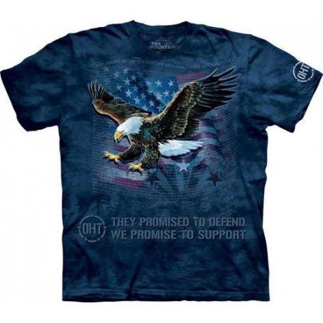 OHT Inner Spirit Flag T-Shirt The Mountain