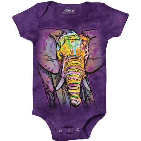 Russo Elephant Baby Onesie The Mountain