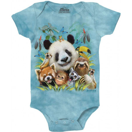 Zoo Selfie Baby Onesie The Mountain