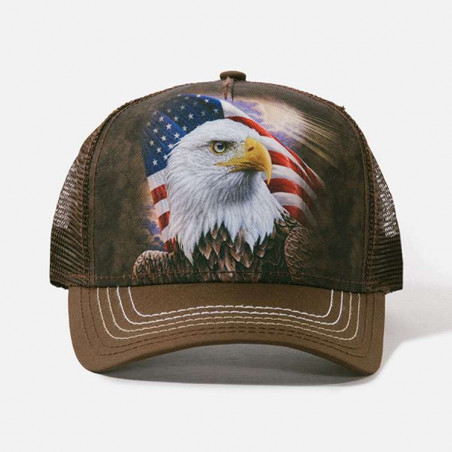 Independence Eagle Trucker Hat The Mountain