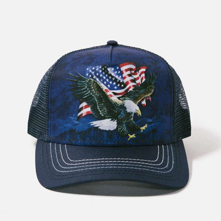 Eagle Talon Flag Trucker Hat