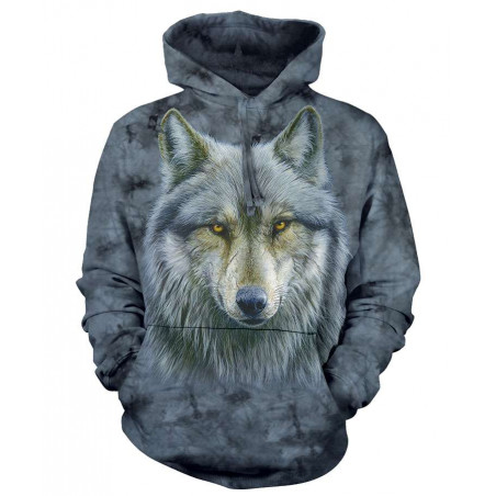 Warrior Wolf Hoodie The Mountain