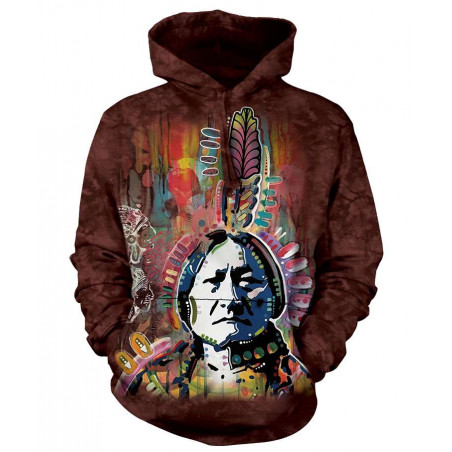 Sitting Bull 1 Hoodie The Mountain