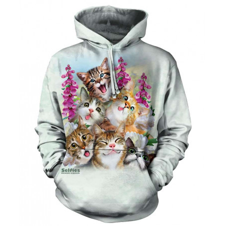 Kittens Selfie Hoodie The Mountain
