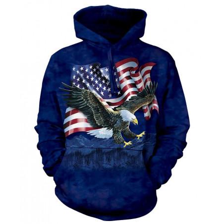 Eagle Talon Flag Hoodie