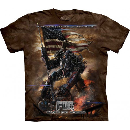 FDR New Deal T-Shirt The Mountain
