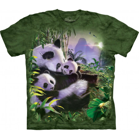 Panda Cuddles T-Shirt The Mountain