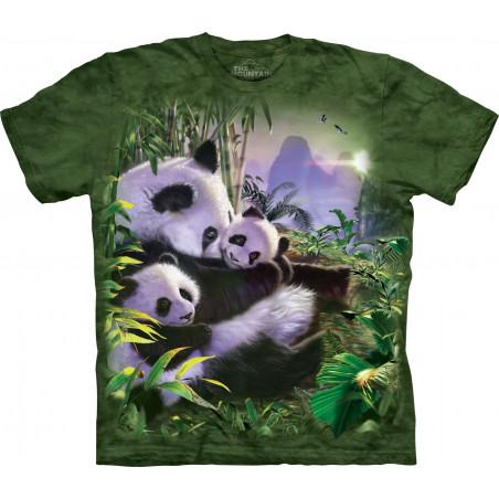 Panda Cuddles T-Shirt The Mountain