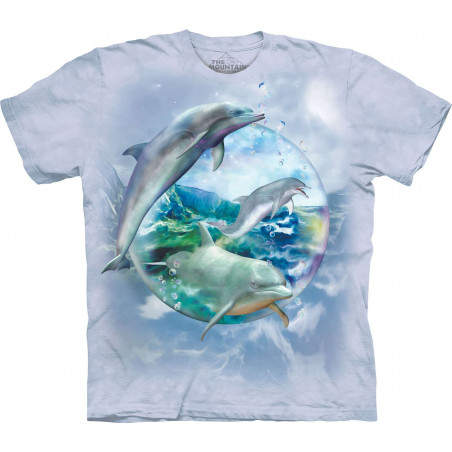 Dolphin Bubble T-Shirt The Mountain